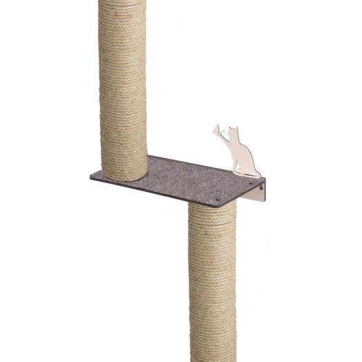 Настенный игровой комплекс для кошек Хвостович 124 цвет: бежевый