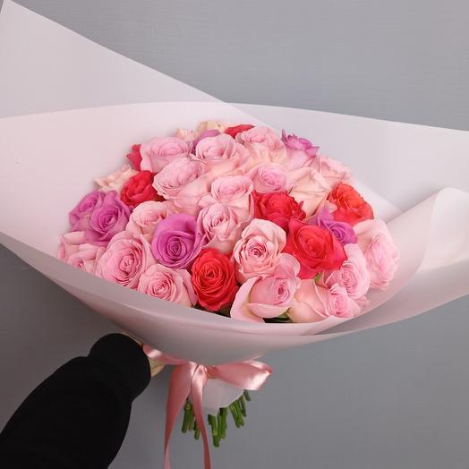 """Розы для тебя"" 35 ароматных роз"