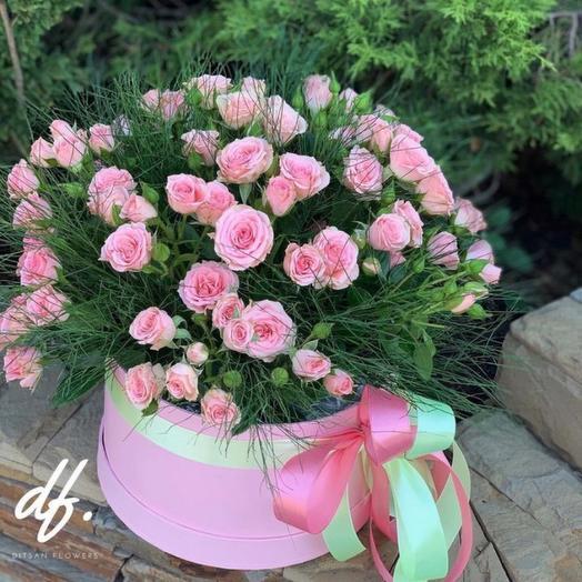 Midnight Beauty Цветы в коробке