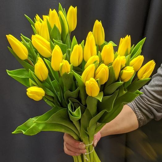 Тюльпаны 31 шт