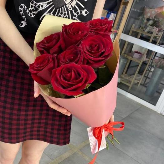 """Букет """"7 роз Эксплорер"""""""