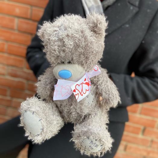 Мишка Тедди с бантом