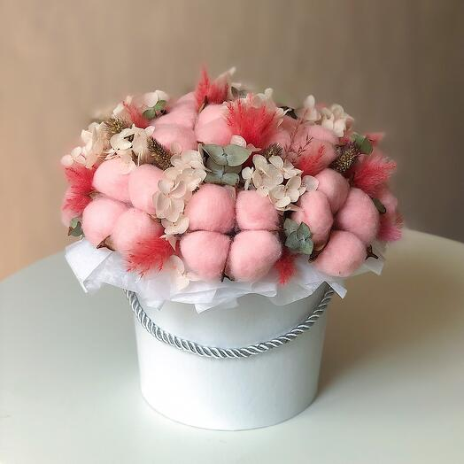 Цветы в коробке Wow