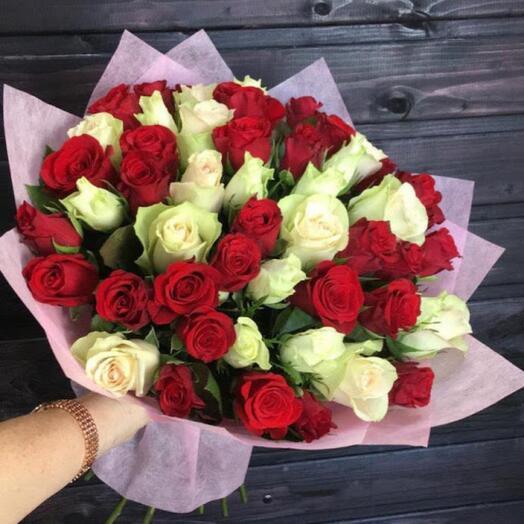 Роза кения микс 51 шт