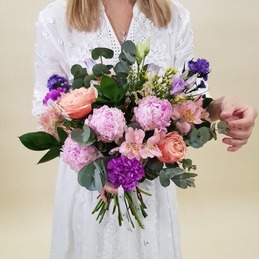 Авторский букет, от дома цветов «Fleur de Mary»