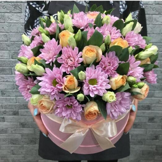 Цветы в коробке 066577