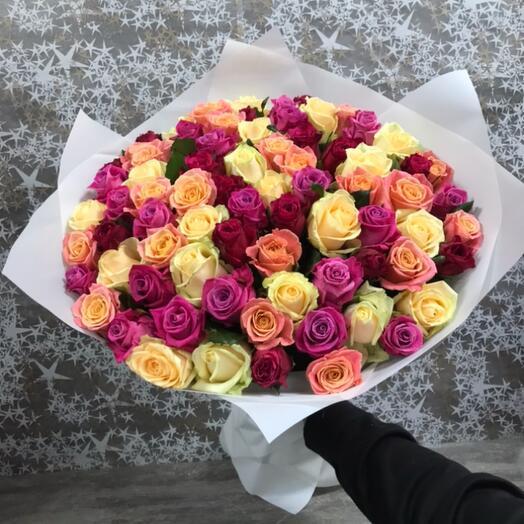 Роза Микс 60 см