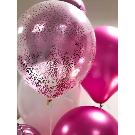 Воздушные шары «Pink»