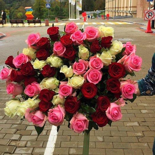 Композиция Панорама: букеты цветов на заказ Flowwow