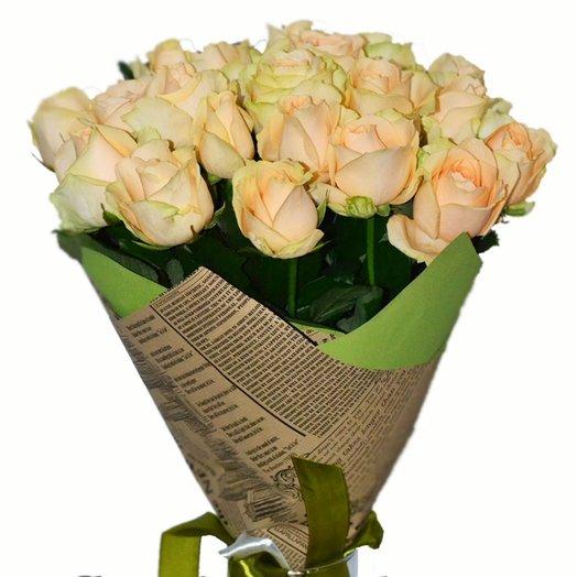 Букет Аваланж пич: букеты цветов на заказ Flowwow