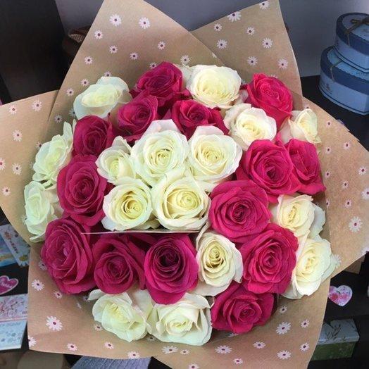 Букет 31 роза микс: букеты цветов на заказ Flowwow