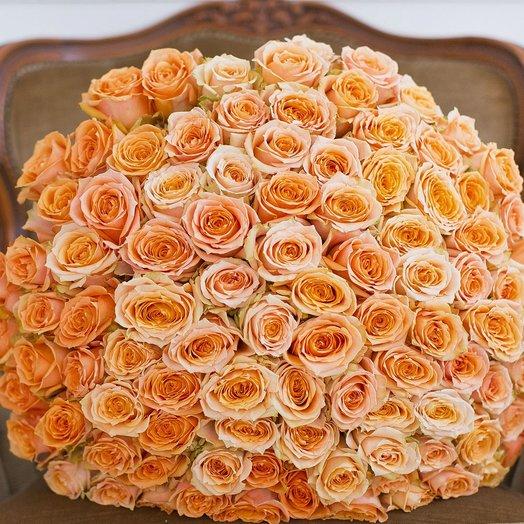 Букет из 101 розы «Shukrani»