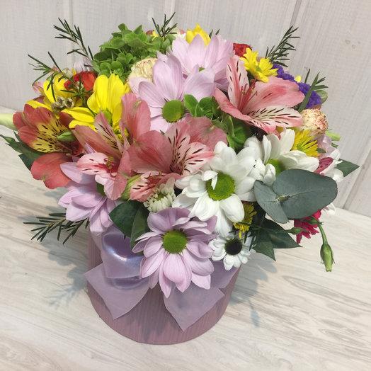 Коробочка микс цветочный: букеты цветов на заказ Flowwow