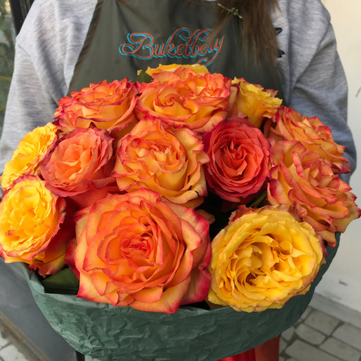Почти что Ургант!: букеты цветов на заказ Flowwow