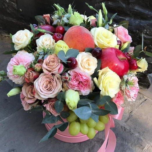 Фрукты в карамели: букеты цветов на заказ Flowwow
