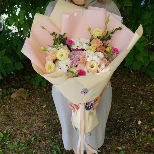 Шикарный букет для торжественного случая: букеты цветов на заказ Flowwow