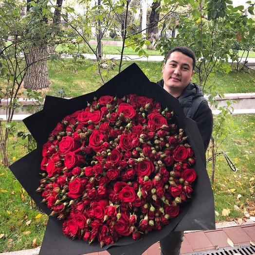 Мадам Рэд: букеты цветов на заказ Flowwow