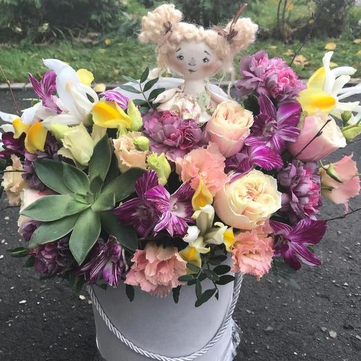 Машенька: букеты цветов на заказ Flowwow