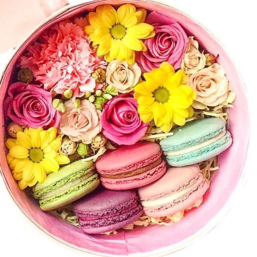 """""""Французский шик"""": букеты цветов на заказ Flowwow"""