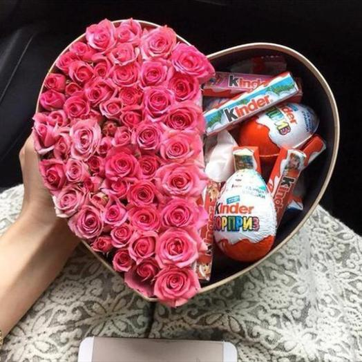 Радость любимой: букеты цветов на заказ Flowwow