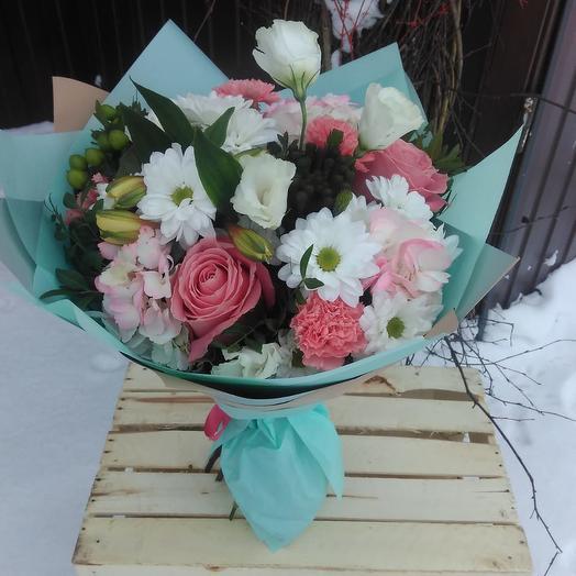 Стереобукет Tiffany: букеты цветов на заказ Flowwow