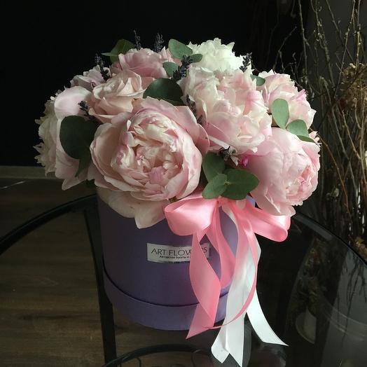 Пионовый рай: букеты цветов на заказ Flowwow