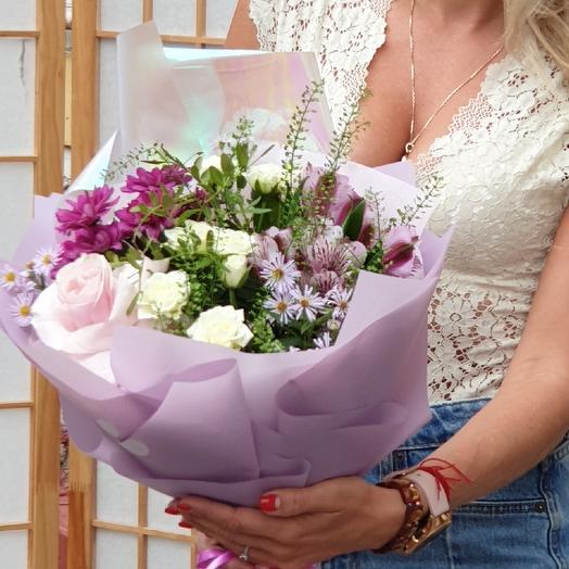 Букетик 1 сентября: букеты цветов на заказ Flowwow