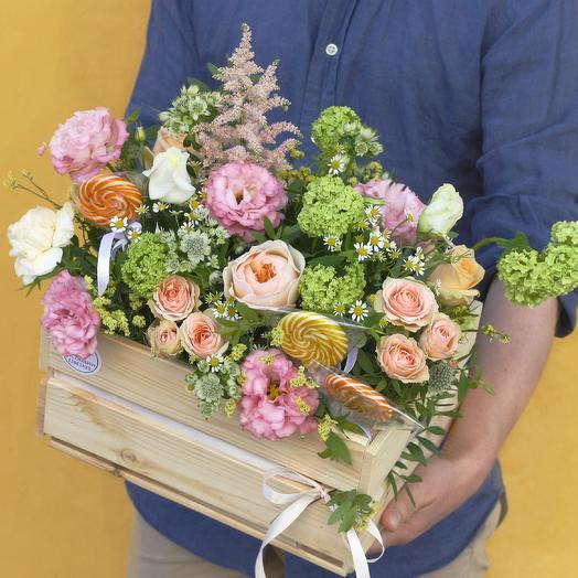 Сладкий Сад Шермель: букеты цветов на заказ Flowwow
