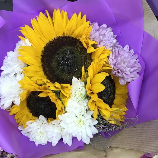 Солнечный 💕: букеты цветов на заказ Flowwow