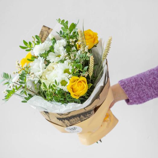 Букет полевой 1: букеты цветов на заказ Flowwow