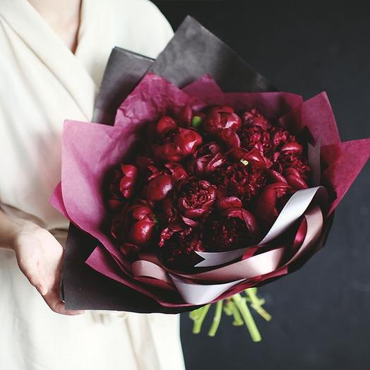 """Букет """"Ред Шарм"""" Medium: букеты цветов на заказ Flowwow"""
