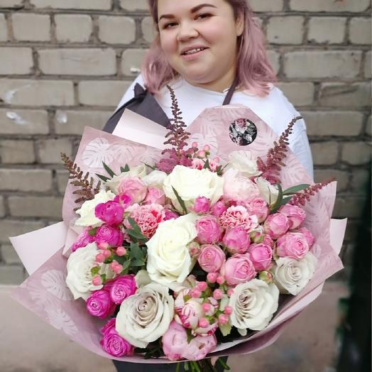 Букет SWIFTKEY: букеты цветов на заказ Flowwow