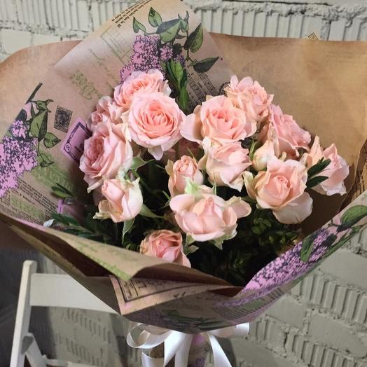 Нежные воспоминания: букеты цветов на заказ Flowwow