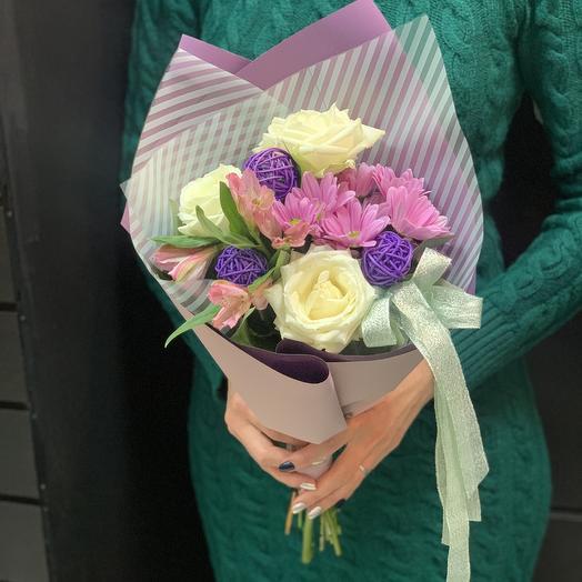 Букет комплимент «сирена»: букеты цветов на заказ Flowwow
