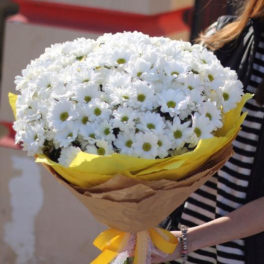 Букет из хризантем 10