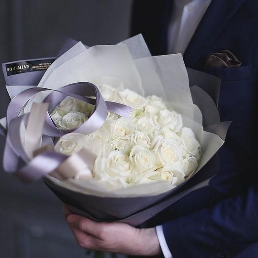 Роскошный букет 51 роза