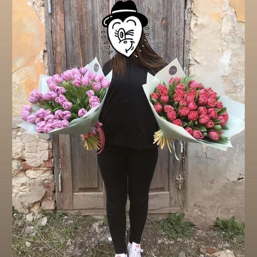 31 тюльпан: букеты цветов на заказ Flowwow