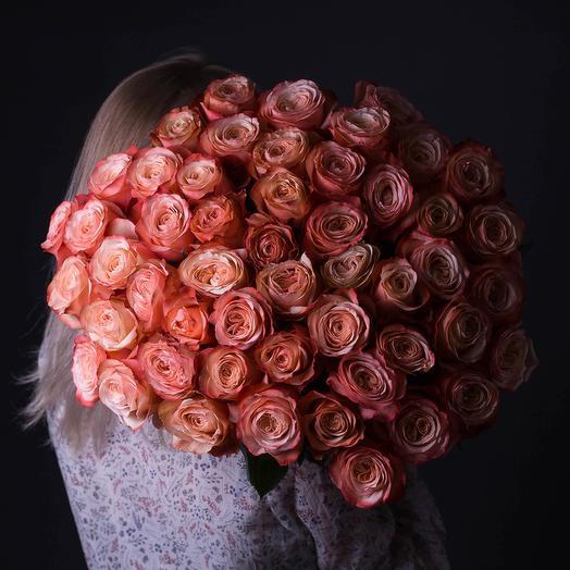 51 Эквадорская роза: букеты цветов на заказ Flowwow