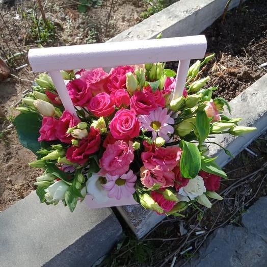 Ящик «Розовая симфония»