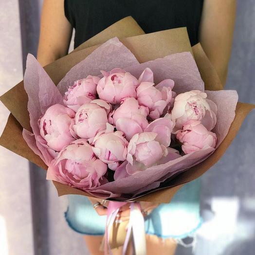 Пионы дня: букеты цветов на заказ Flowwow