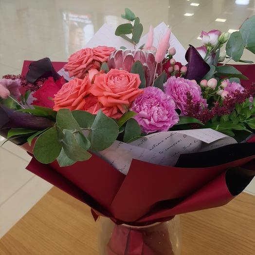 Прекрасный авторский букет: букеты цветов на заказ Flowwow