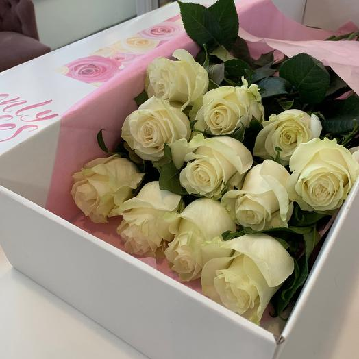 Only roses white