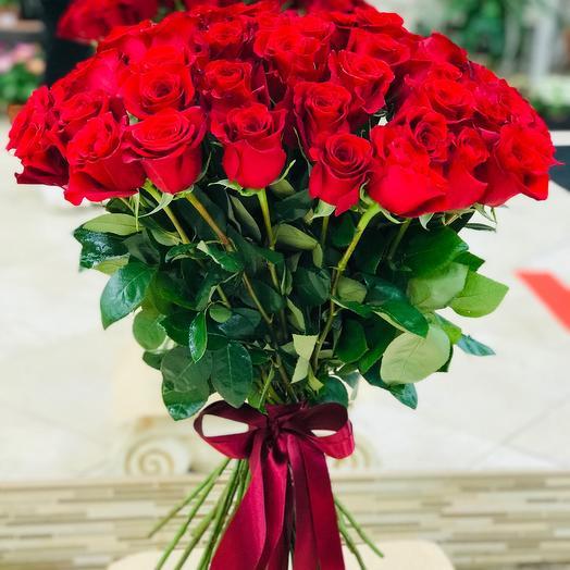 Красные розы Эквадор