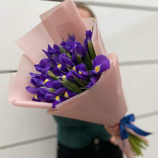 Букет ирисов «Виолетта»