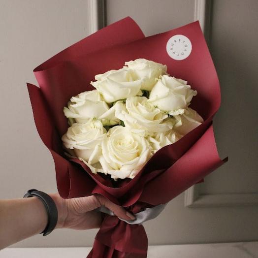 ✅ Букет белых роз