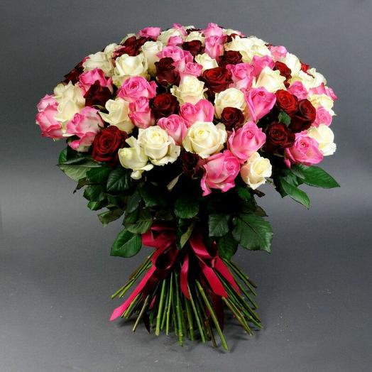 101 Роза Крымский микс