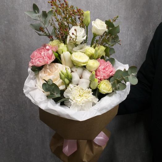 """Букет с пионовидной розой """"Валенсия"""""""