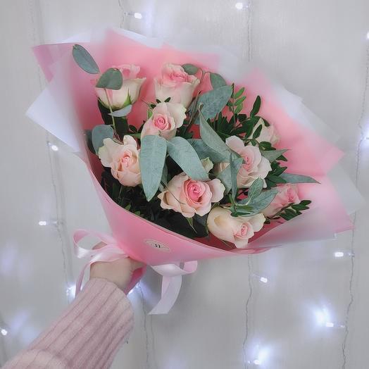 Нежные розы 😍🌸