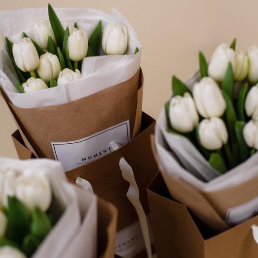 Тюльпаны White 9