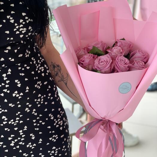 Моно-букет из роз